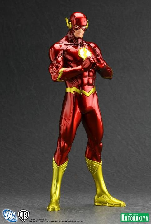 The Flash New 52 ARTFX+ Statue Kotobukiya