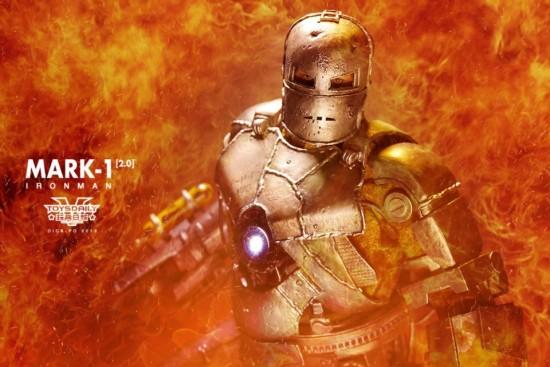 hot toys Iron Man Mark 1