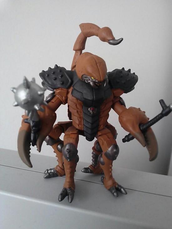Battle beasts scorpion brown tru