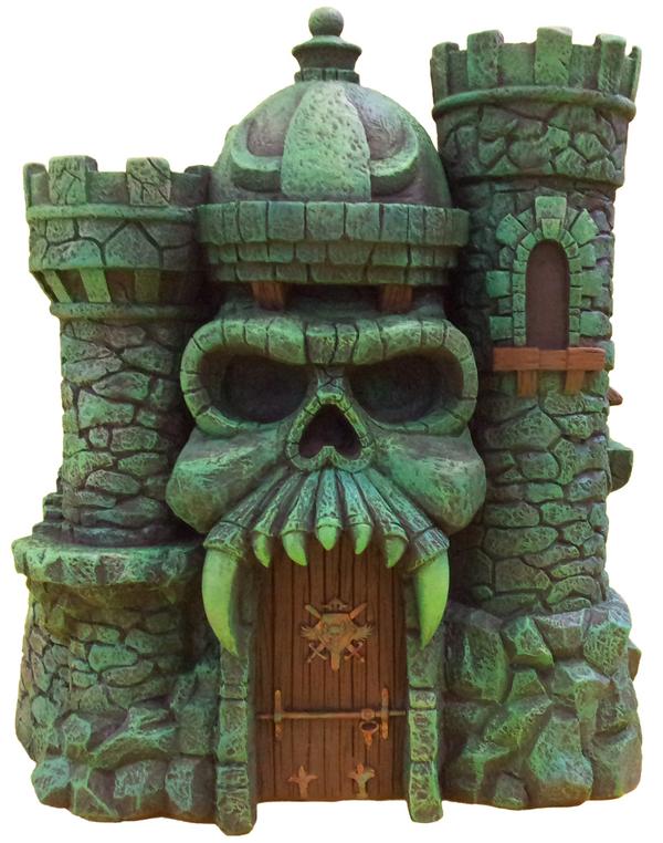 Castle Grayskull Statue icon heroes