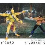Des figurines 10cm pour Mortal Kombat