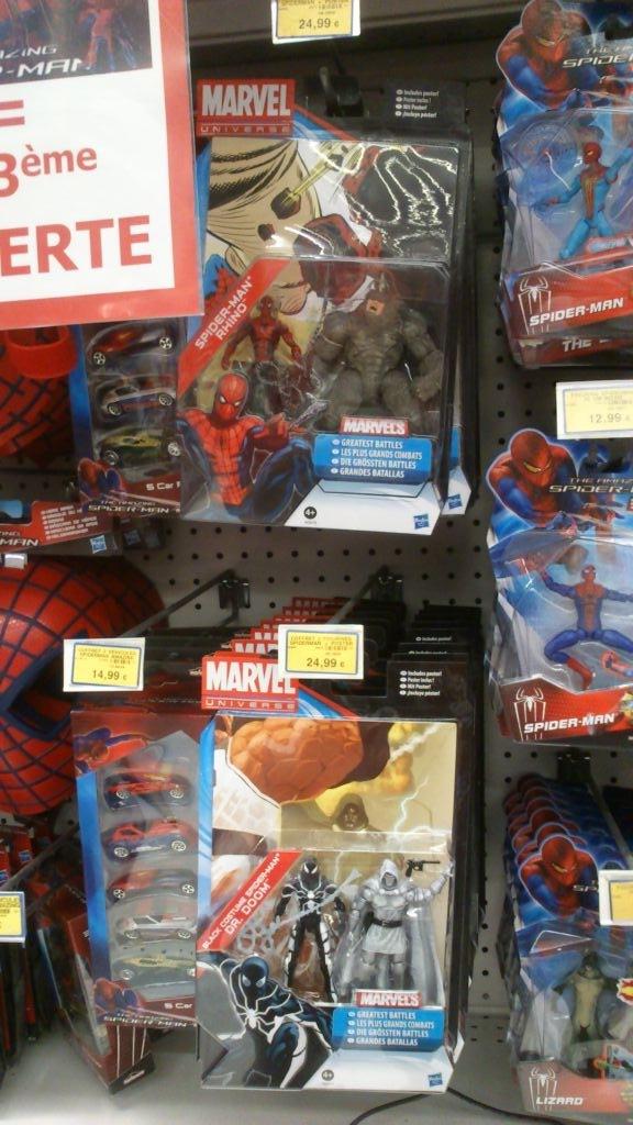 Hasbro Marvel Universe Greatest battle pack