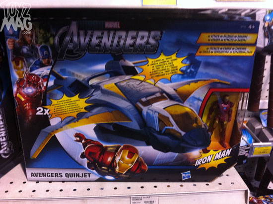 Hasbro The Avengers quinjet