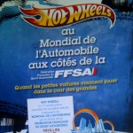 Hot Wheels au Mondial de l'automobile