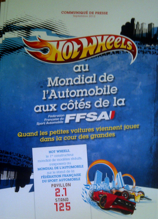 Hot Wheels Mondiale de l'automobile