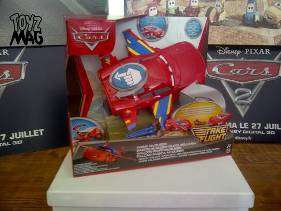 Hawk McQueen Cars Flash Disney Pixar Mattel 2