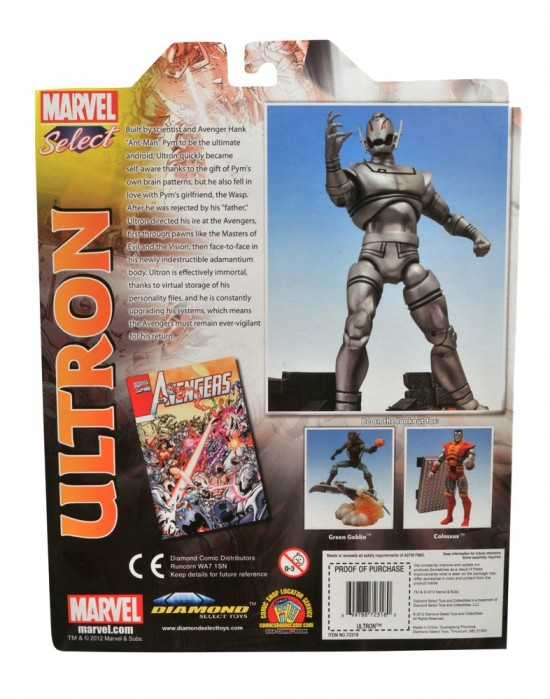 MARVEL SELECT ULTRON DST