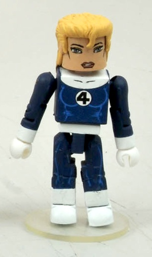 Marvel Minimates Series 44 fantastic four Sue storm variante