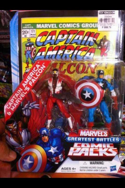 Marvel Universe Comic Pack Captain America Falcon