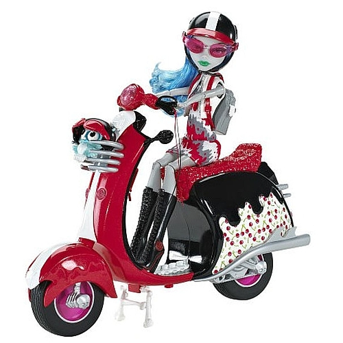 Monster High - Ghoulia et son scooter