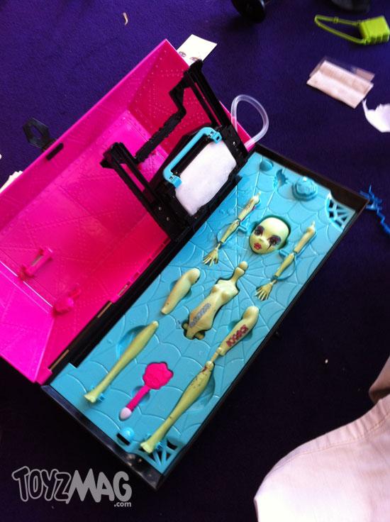 Monster High Mattel 2012 Le laboratoire