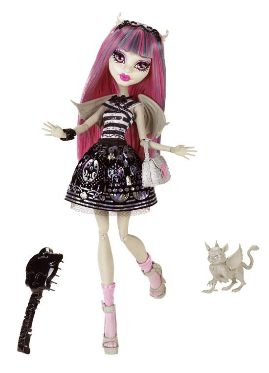 Monster High Mattel 2012 - Rochelle Goyle