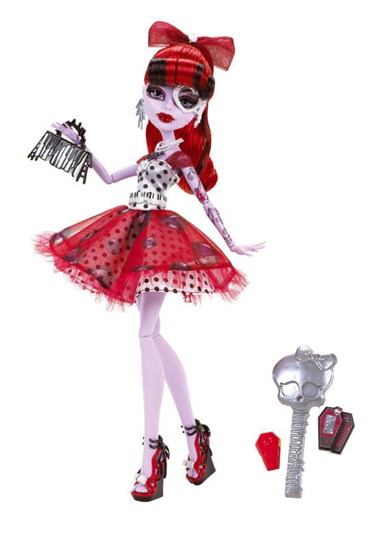 Monster High Mattel 2012 - trio infernal poupées showbiz