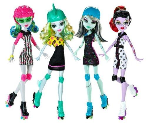 Monster High Roller Derby