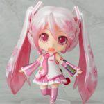 Nendoroid du nouveau avec Sakura Miku