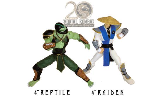 Reptile and Raiden