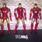 The Avengers - Shatter Blaster Iron Man #18 (Super Articulated Mark VII) marvel hasbro
