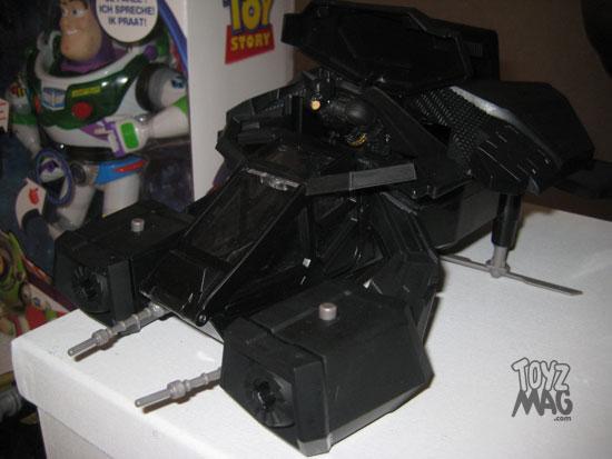 The Dark Knight Rises Mattel noel 2012 The Bat