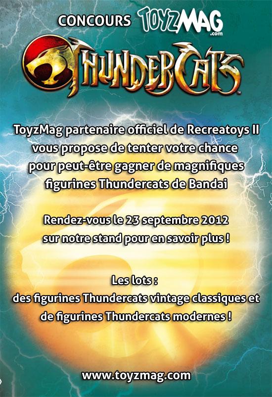 Thundercats concours Toyzmag / Bandai