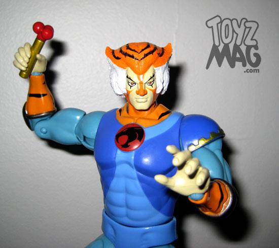 Tygra Tygo Thundercats classics vintage bandai