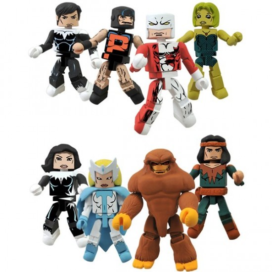 alpha fight minimates DST exclue NYCC2012