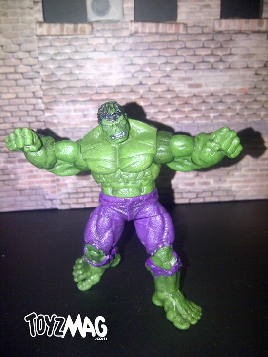 marvel universe Hulk 2012 Hasbro 91