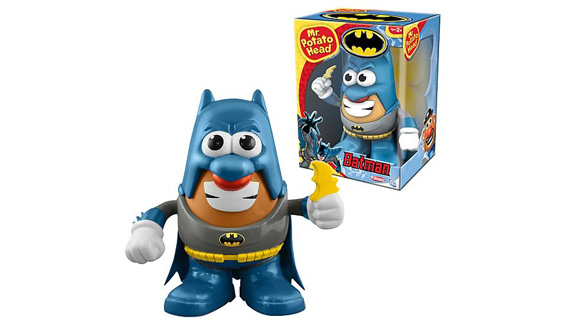 potato batman Monsieur Patate Playskool Hasbro