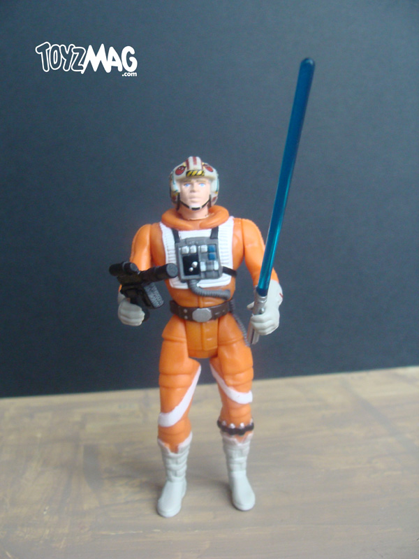 Luke Skywalker X-Wing pilot POTF2 Star wars
