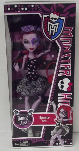 Dance Class Monster High Operetta