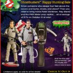 Ghostbuster, Matty fait une promo spéciale halloween