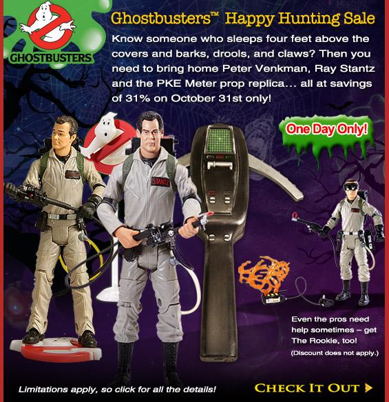 Ghostbuster Happy Haunting Sale Halloween