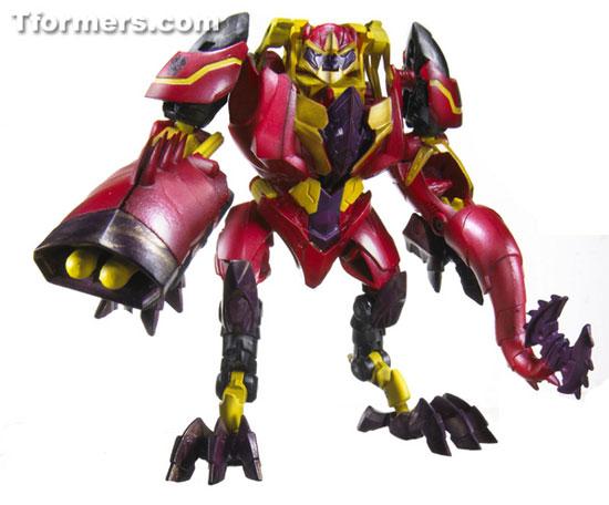 Laserback beast hunter transformers hasbro