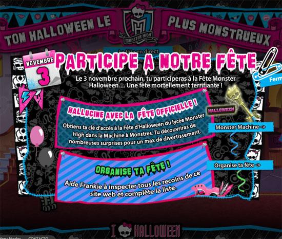 Monster High Mattel Halloween