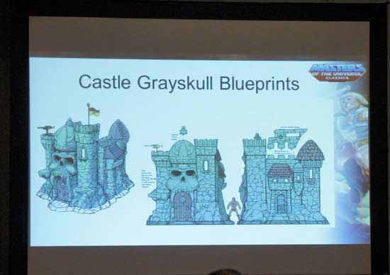 Grayskull chateau des ombrres MOTUC