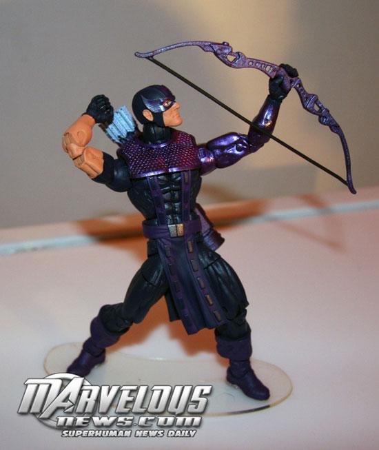 Marvel Legends Hasbro NYCC2012 HAWKEYE