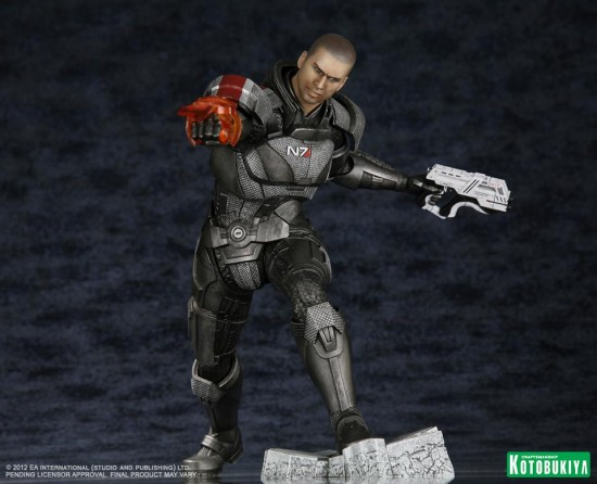 Mass Effect 3 Commander Shepard ARTFX Statue kotobukiya koto