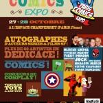 Concours Gagnez votre place pour le Paris Comics Expo