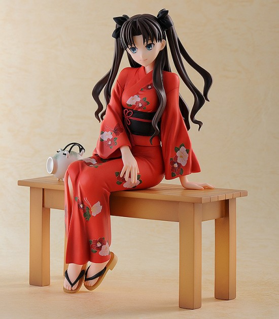 Rin Tohsaka Yukata ver freeing fate/stay night