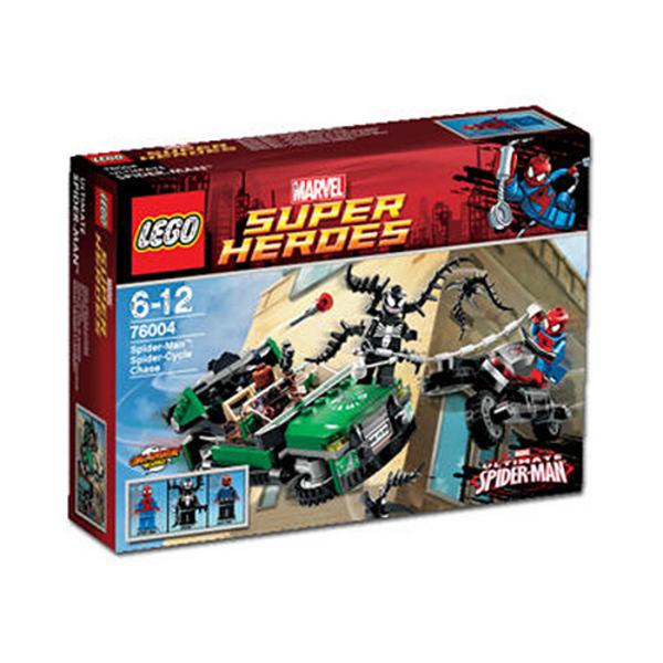 Spider-man spider Cycle lego