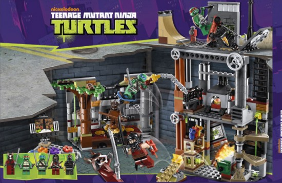 TMNT LEGO