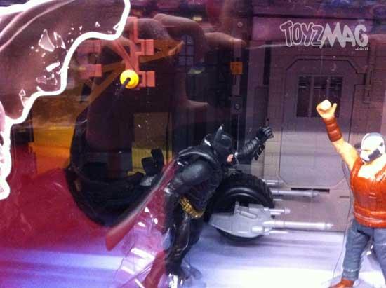 batman TDKR mattel attaque de la banque