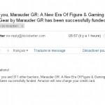 Marauder Inc. : Mission accomplie !