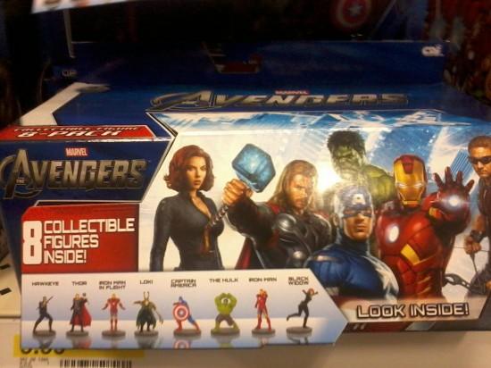 the avengers 6cm