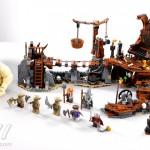the hobbit The-Goblin-King-Battle lego