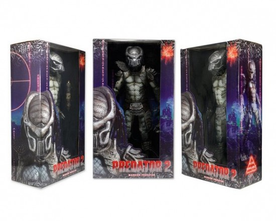 Packaging du Warrior Predator échelle 1/4 par NECA