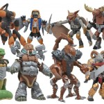 Battle Beasts Minimates Series 1 les exclues TRU