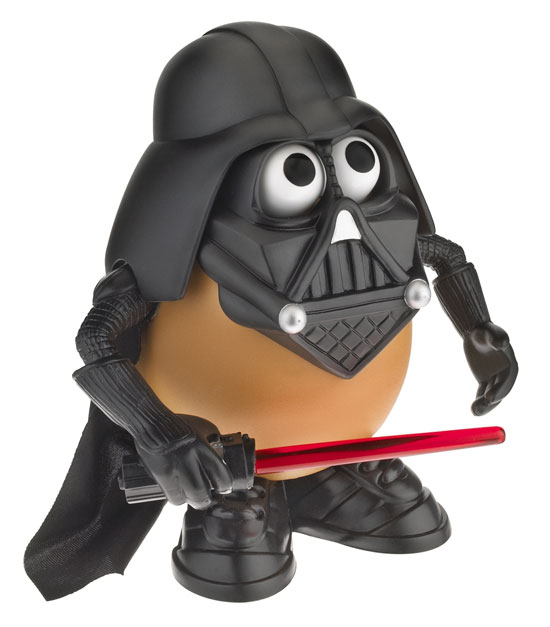 Dark vador Patate Darth Tater