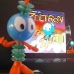 Zeltron - figurine française d'Antenne 2, EDF et F. Castan - Review