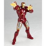 Les détails du Revoltech Iron Man Mark VII  Avengers