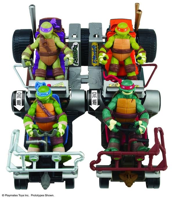 TMNT buggy patrol